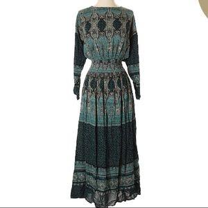 Free People Boho Maxi Dress NWT sz XS